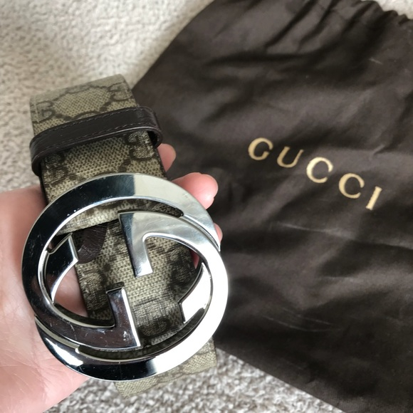 d8b12b2ef36 Gucci Accessories - Gucci GG Supreme belt with G Buckle